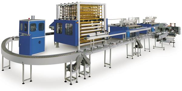 Оборудование для производства салфеток и туалетной бумаги, cтанки GC12
